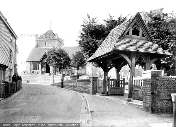 Bexhill On Sea, Old Town, St Peter's Parish Church 1921