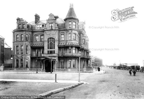 Bexhill On Sea, Parade And Marine Hotel 1899