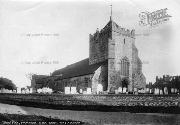 Bexhill On Sea, Parish Church Of St Peter1892