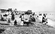 Bexhill-on-Sea, The Beach 1910