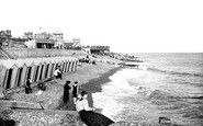 Bexhill-on-Sea, The Beach 1912