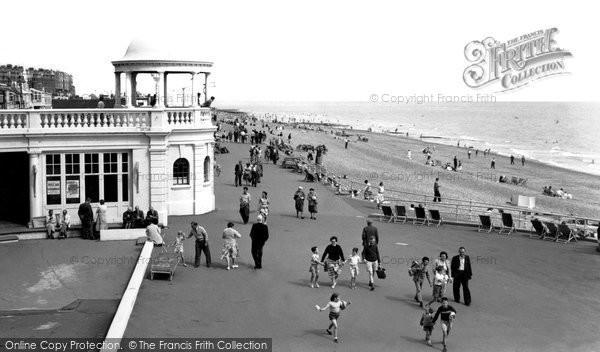 Bexhill On Sea, The Promenade c.1955