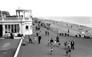 Bexhill-On-Sea, The Promenade c.1955