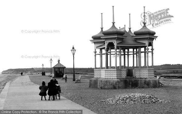 Bexhill On Sea, West Parade And Bandstand 1899