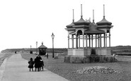Bexhill-on-Sea, West Parade And Bandstand 1899