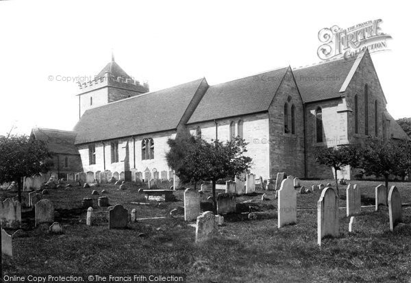 Bexhill, Parish Church Of St Peter 1892