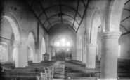 Bexhill, Parish Church Of St Peter, Interior 1892