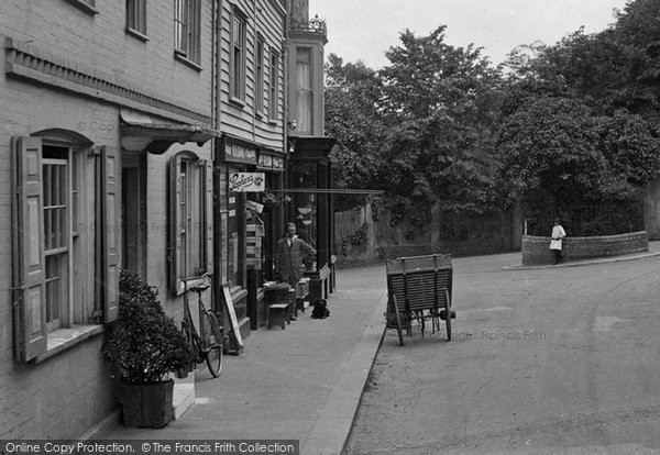 Bexhill, Shop In Church Street 1921