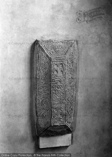 Bexhill, St Peter's Parish Church, The Saxon Stone 1894
