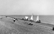 Bexhill, The Beach c.1960