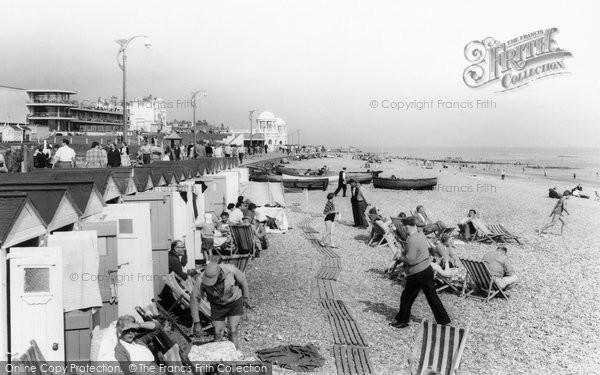 Bexhill, The Beach c.1965