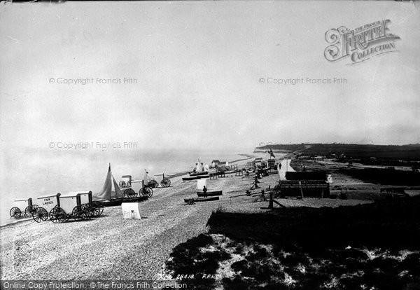 Bexhill, View From Coastguard Station 1891