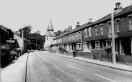 Bexley, North Cray Road c.1965