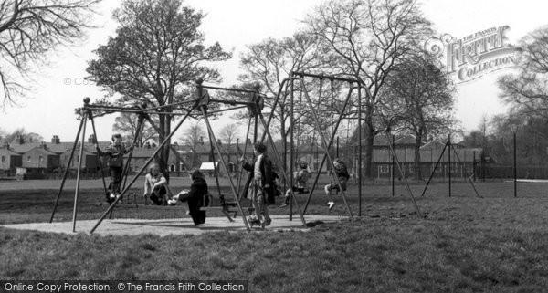 Bexley, Recreation Ground c.1955