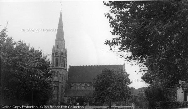 Bexley, St John's Church c.1950