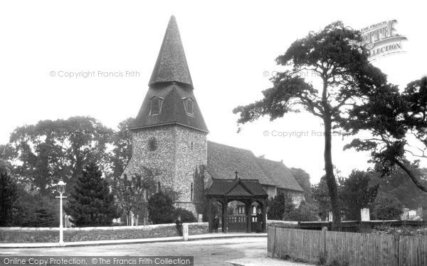 Bexley, St Mary's Church 1900