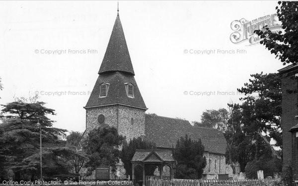 Bexley, St Mary's Church c.1955