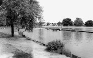 Bexleyheath, Boating Lake, Danson Park c1965