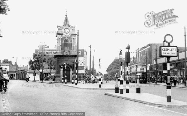 Bexleyheath, Clock Tower c.1950
