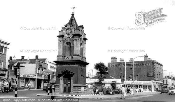 Photo of Bexleyheath, Clock Tower c1960