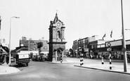 Bexleyheath, Clock Tower c.1960
