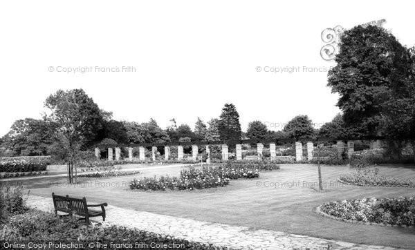Bexleyheath, Danson Park c.1965