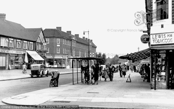Photo of Bexleyheath, Pickford Lane c1950