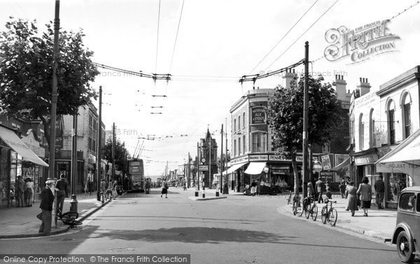 Bexleyheath, The Broadway c.1950