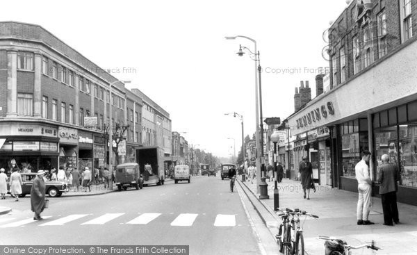 Bexleyheath, The Broadway c.1960