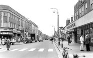 Bexleyheath, the Broadway c1960