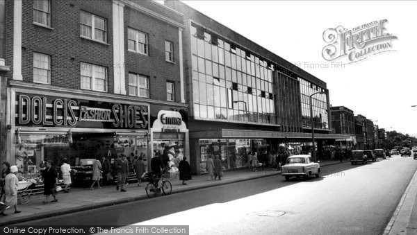 Bexleyheath, The Broadway c.1965