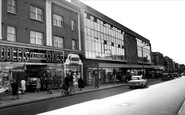 Bexleyheath, the Broadway c1965