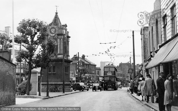 Bexleyheath, The Clock Tower c.1950