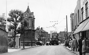 Bexleyheath, the Clock Tower c1950
