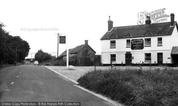 Beyton, The Bear Inn c.1955