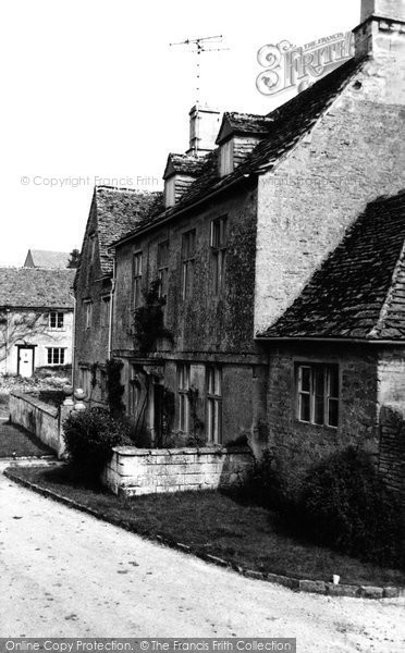Bibury, Arlington Manor c.1960