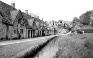 Bibury, Arlington Row c.1955