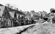 Bibury, Arlington Row c.1960