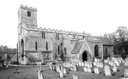Bibury, St Mary's Church c.1955
