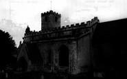 Bibury, St Mary's Church c.1960