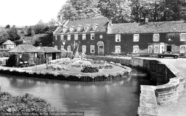 Bibury, Swan Hotel c.1955