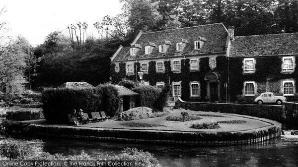 Bibury, Swan Hotel c.1960
