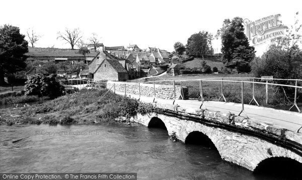 Bibury, The Mill c.1960