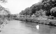 Bibury, The River Coln c.1955