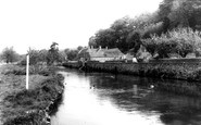 Bibury, The River Coln c.1960