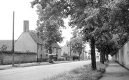 Bicester, Captains Walk c.1955