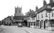 Bicester, Church Street c.1955