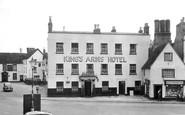 Bicester, King's Arms Hotel c.1955