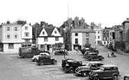 Bicester, Market Square 1950