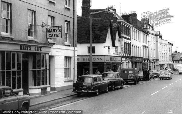 Photo of Bicester, Mary's Café c1965
